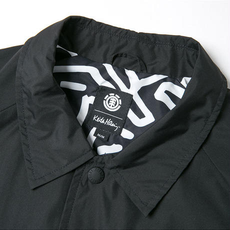 ELEMENT Keith Haring Coach Jacket Black