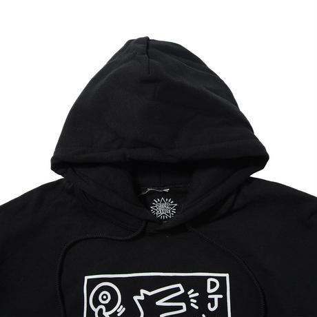 POP SHOP DJ Dog Hooded Sweatshirt