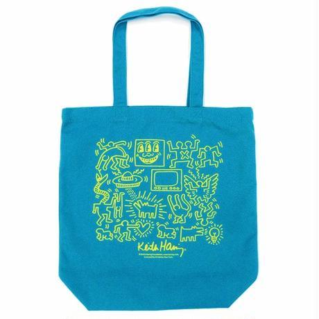 Keith Haring Tote Bag 【Green】 キース・ヘリング トートバッグ【グリーン】