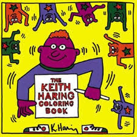 Keith Haring Coloring  Book