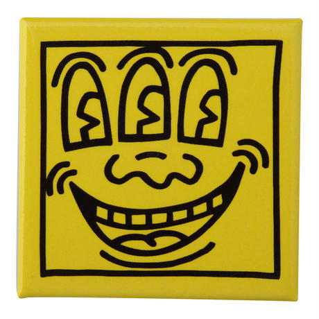 POP SHOP Keith Haring 3 Eyed Pin