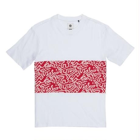 ELEMENT Keith Haring Big Panel T-shirts White