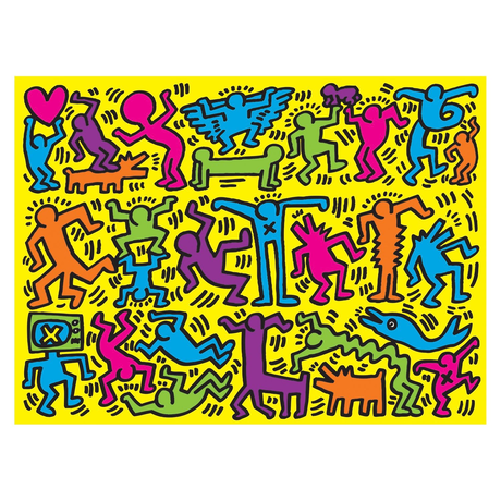 Mudpuppy Keith Haring 500 Piece Puzzle