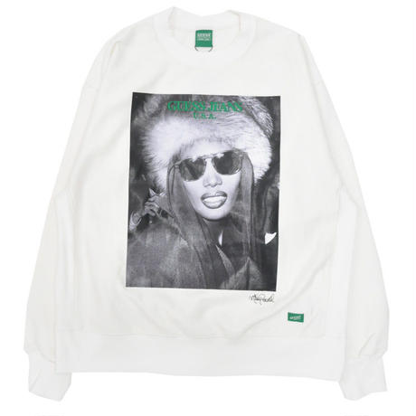 GUESS GREEN LABEL Grace Jones Sweater (White)