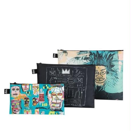 LOQI Zip Pockets BASQUIAT Zip Pockets