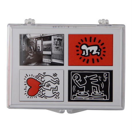 Keith Haring Set of 4 Magnets (Subway)