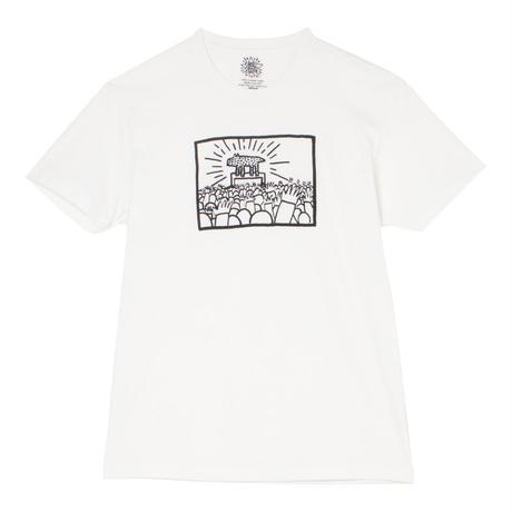 """Keith Haring Unisex T-Shirts """"Radiant Dog""""  キース・ヘリング ユニセックス Tシャツ"""