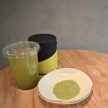 【送料無料】◎花粉症対策◎べにふうき - 粉末煎茶 - 茶缶100g