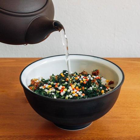 【送料無料】手摘み碾茶使用!お茶漬けの素4種セット