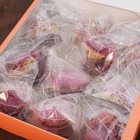 大人気!!YUNAMI FACTORYオリジナル 冷凍 紅芋シュークリーム 10コ入り 【送料込み】