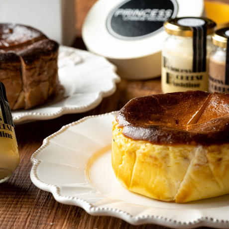 【Princess Cheese Factory】Princess Basque Cheese Cake プリンセスバスクチーズケーキ
