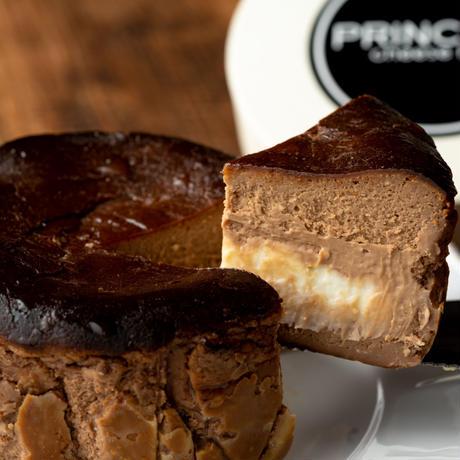 【Princess Cheese Factory】Princess Basque Chocolate Cake プリンセスバスクチョコレートケーキ
