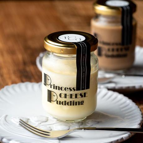 【Princess Cheese Factory】Princess Cheese Pudding<プレーン2/チョコ2個入り>