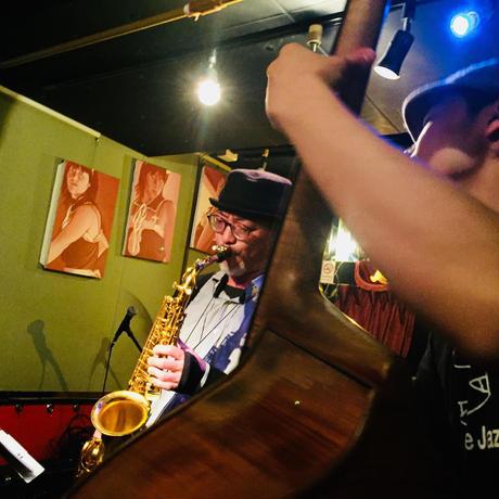 12/2@ナカノピグノウズ津上研太×落合康介jazz live¥500