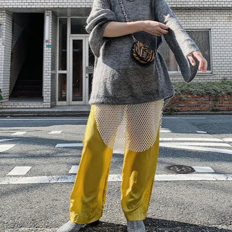 【RE STOCK】cupra easy pants  ( yellow ) ★new color★