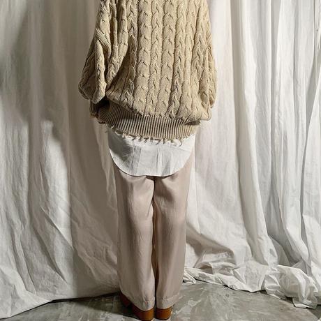 cupra easy pants   (ivory)