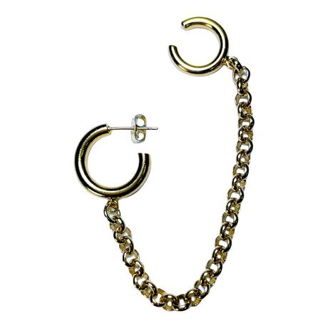 【JASTINE CLENQUET】Mickee earring/ear cuff(single)
