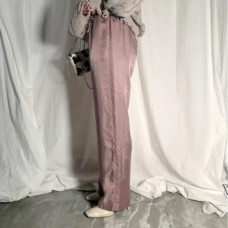 cupra easy pants  ( smoke pink ) ★new color★