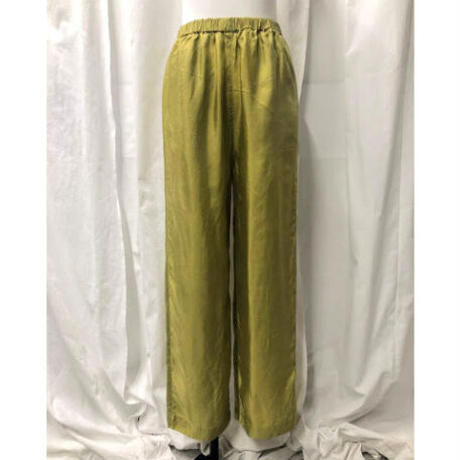 【RE STOCK】cupra easy pants  (light green)