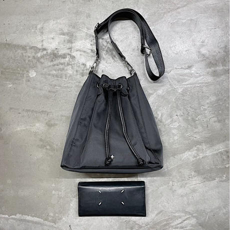 【PETA+JAIN】NYLON DRAWSTRING SHOULDER BAG