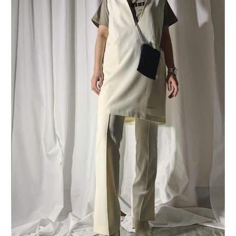 【pre fall】mini jumper skirt (ivory)