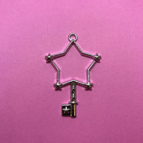 【在庫処分】星の鍵 シルバー〈10コ〉