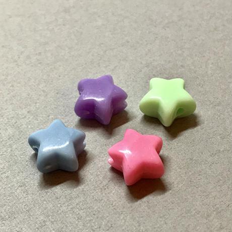 立体的なパステル星〈30コ〉