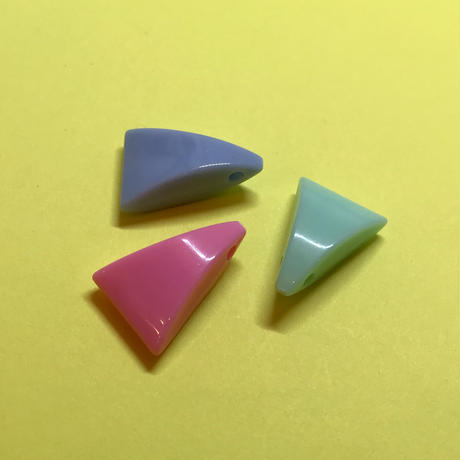パステルドロップ風 三角〈10コ〉