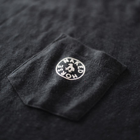 【SALE】Pocket Tshirts Black