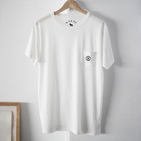 【SALE】Pocket Tshirts White