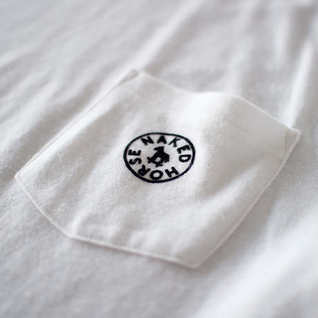 【SALE】Pocket Tshirts White