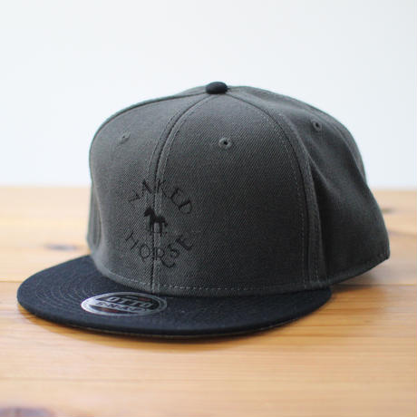 Logo Cap Black×Charcoal