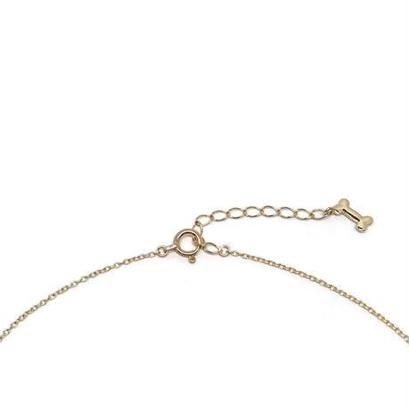アニマーレ フレンチブルドッグ ネックレス K10YG