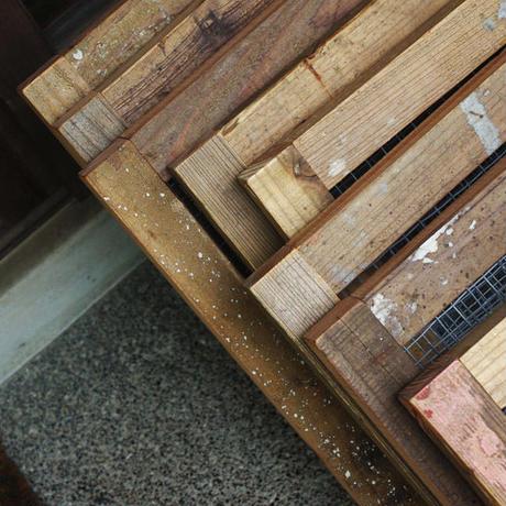 古材の木枠