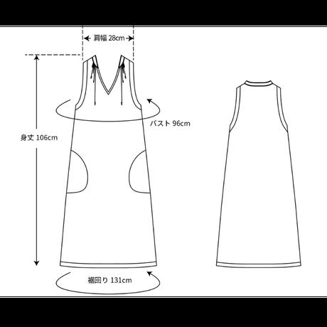 TOWN( 縫代つきカット済型紙)/ノースリーブワンピース