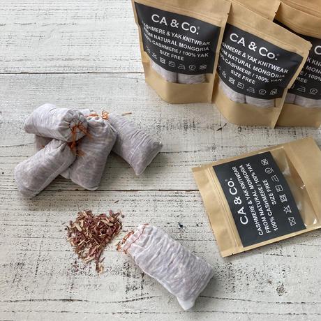 【予約販売】CA&Co. 手編み YAK  鹿の子キャップ
