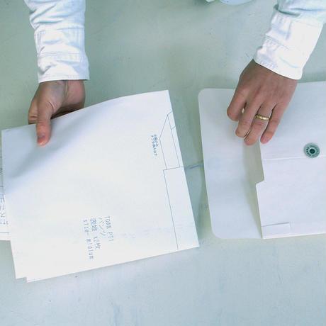TOWN( 縫代つきカット済型紙)/スカート型エプロン(a Un pasデザイン)