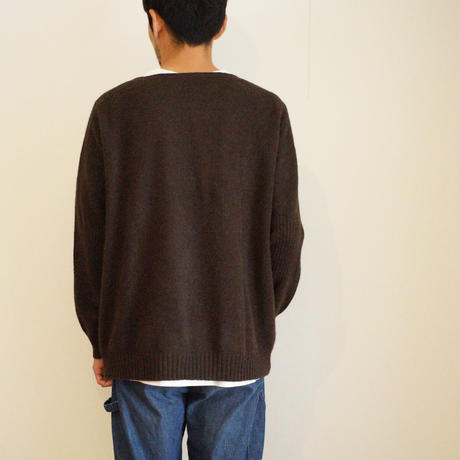 【予約販売】CA&Co. YAK  Men's  クルーネックセーター