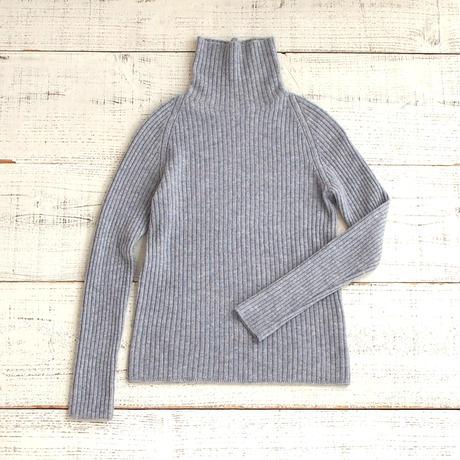 【予約販売】CA & Co. カシミヤハイネックリブセーター