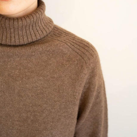 【予約販売】CA&Co.  YAKタートルネックセーター