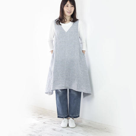 TOWN( 縫代つきカット済型紙)/エプロンワンピース