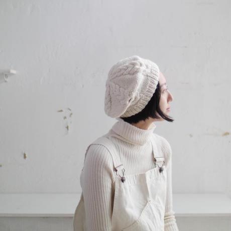【オーダー品】ベレー帽 (ウールアルパカ)  のコピー