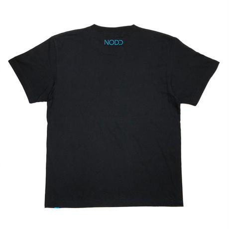 NODD LOGO【T-SHIRT BLACK】