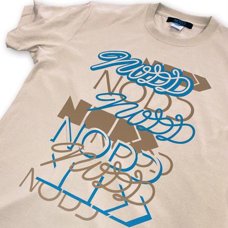 NODD NODD NODD【T-SHIRT SAND BEIGE】