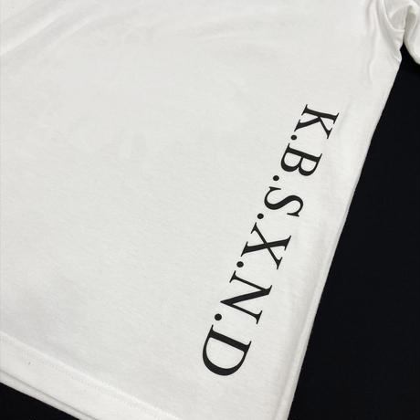 OVERRAPPING【T-SHIRT WHITE】
