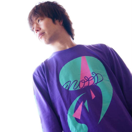 The Composition【LONG  T-SHIRT PURPLE】