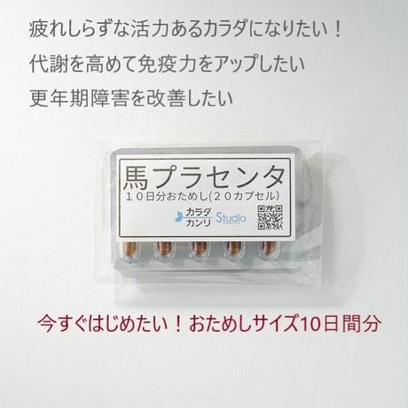 【最安値!今すぐためしたい】インナーバランスシリーズ スーパープラセンタ10日間分