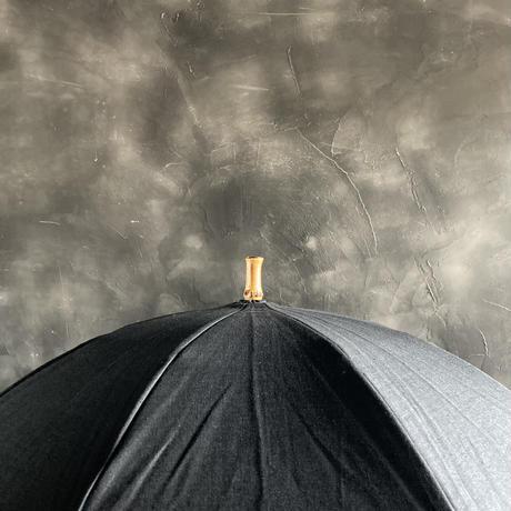 ツタエノヒガサ キツネノタスキ 麻ム地 黒
