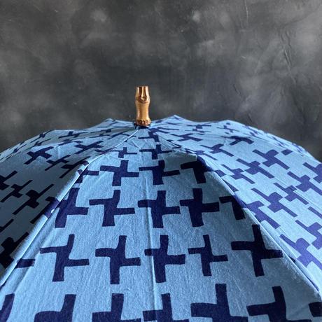 ツタエノヒガサ ウサギノタスキ 籠のメ 水色