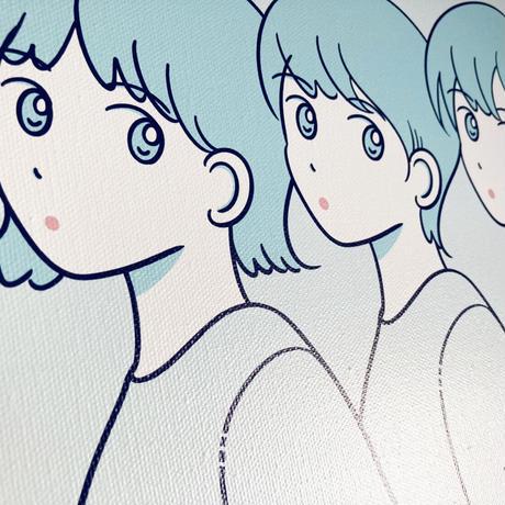 キャンバス  (Blue)